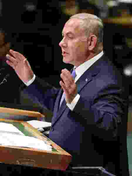 O primeiro-ministro de Israel, Benjamin Netanyahu - Chang W. Lee/The New York Times