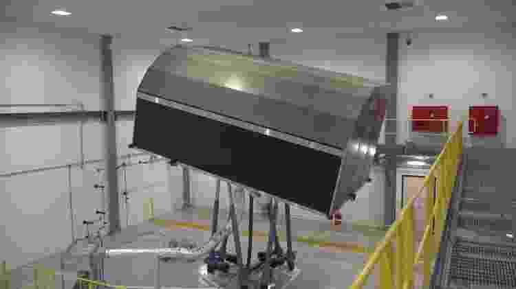 Simulador instalado em Itaguaí reproduz movimentos de submarino para treinar tripulação - Luis Kawaguti / UOL - Luis Kawaguti / UOL