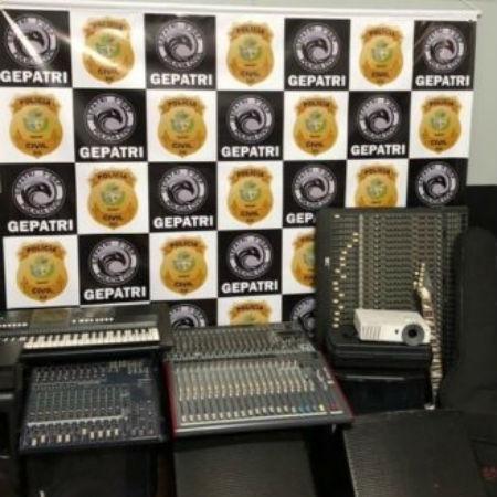 Produtos apreendidos pela polícia - Divulgação/Polícia Civil de Goiás