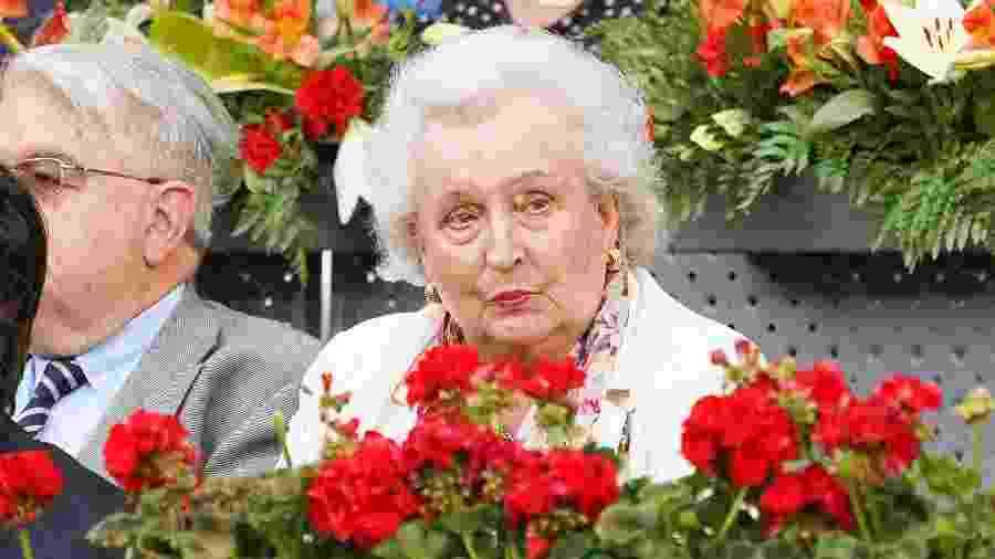 Pilar de Borbón, tia do rei da Espanha, Felipe VI, e irmã do monarca emérito Juan Carlos - Oscar Gonzalez/NurPhoto via Getty Images