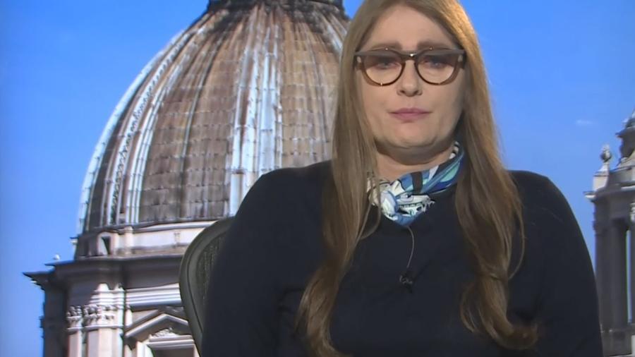 Ilze Scamparini se emociona ao falar sobre impactos do Corona vírus na Itália - Reprodução/TV Globo