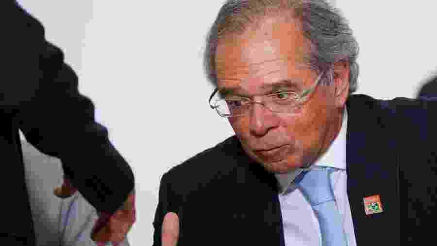 Ministro da Economia, Paulo Guedes, no Palácio do Planalto -