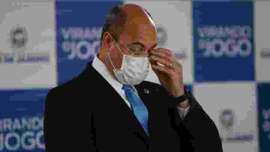 O governador Wilson Witzel elaborou plano de flexibilização de medidas em meio à pandemia do coronavírus - Gilvan de Souza/Agência O Dia/Estadão Conteúdo