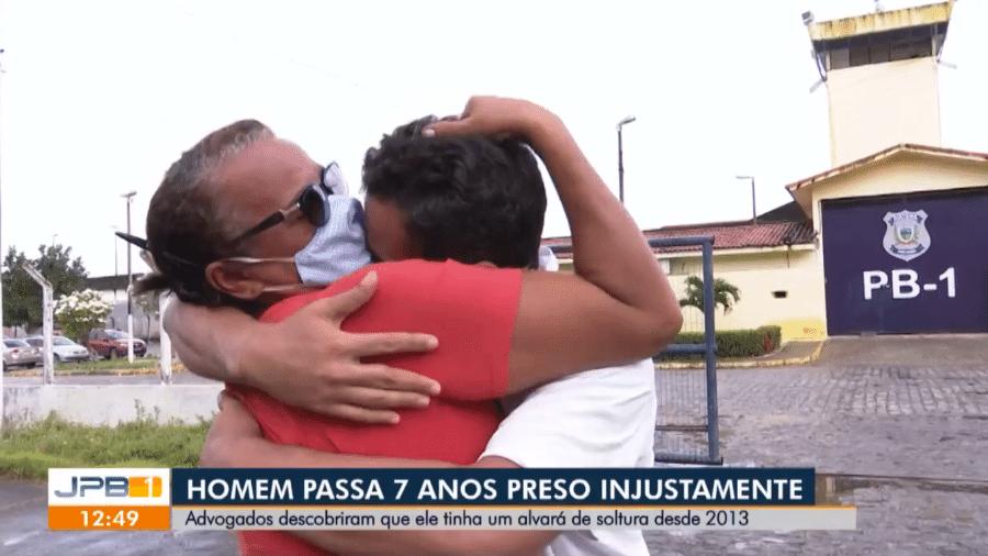 Advogados descobriram que Eridan Constantino, 32, tinha um alvará de soltura desde 2013 - Reprodução/TV Cabo Branco