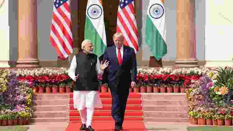 Narendra Modi e Donald Trump - Shealah Craighead/Casa Branca - Shealah Craighead/Casa Branca