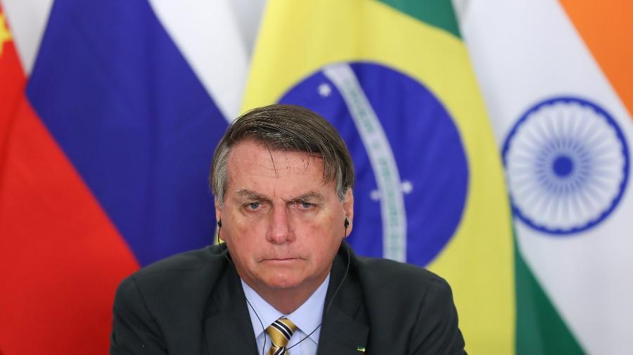 """Bolsonaro diz lamentar """"gente passando necessidade, mas capacidade tá no limite"""" - Marcos Corrêa/PR"""