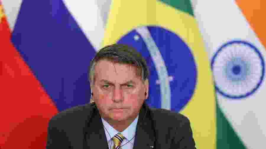 """Sem apresentar provas, Bolsonaro diz que foi """"roubado demais"""" na eleição de 2018 - Marcos Corrêa/PR"""