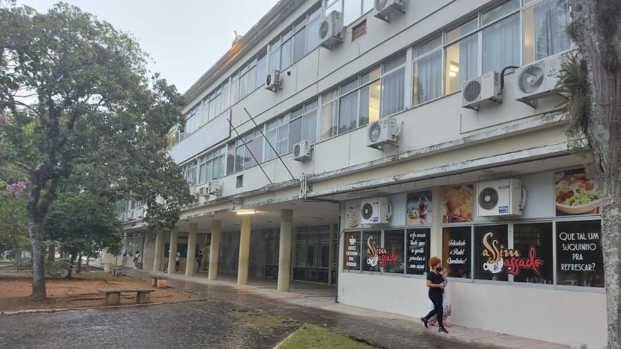 Centro de Comunicação e Expressão da UFSC, onde candidatos do Enem foram barrados - Luan Martendal/UOL