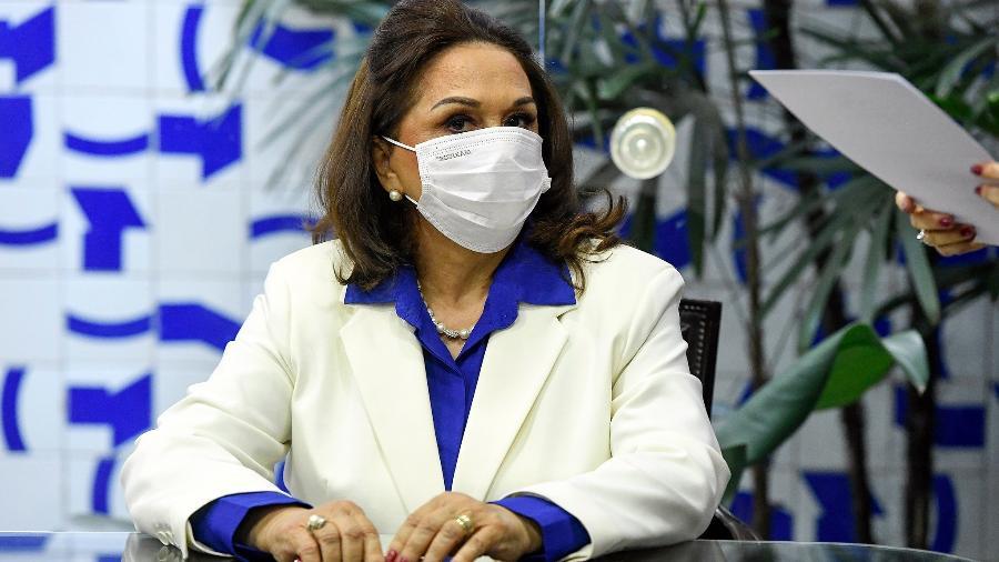 Eliane Nogueira (PP-PI), primeira suplente e mãe de Ciro Nogueira (PP-PI), toma posse no Senado Federal - Jefferson Rudy/Agência Senado