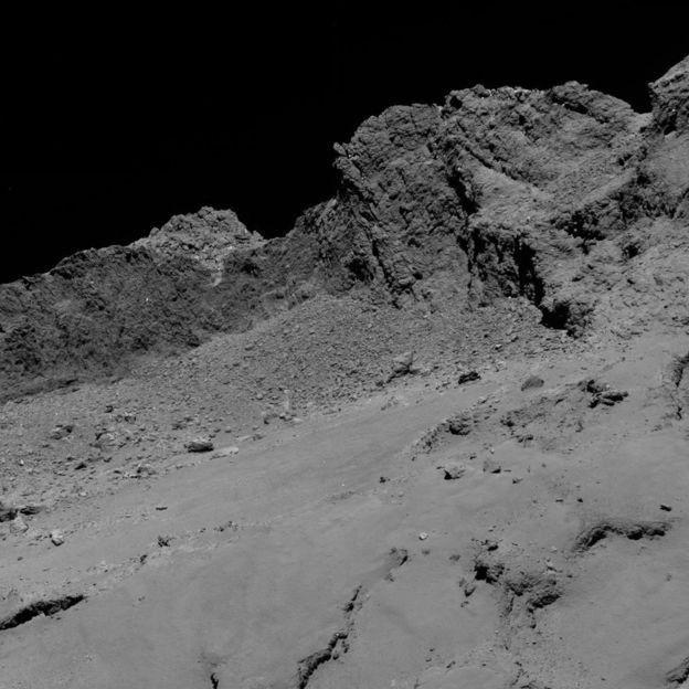30.set.2016 - Sonda fez esta foto do cometa 67P a 16 km de distância