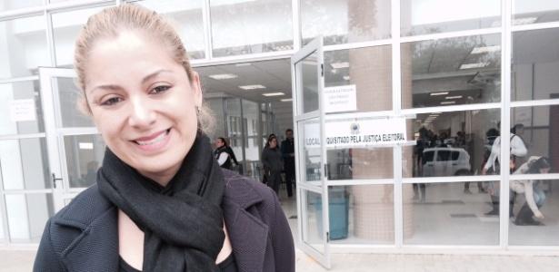 Rafaelly Silva, eleitora em Curitiba (PR), é contra as ocupações das escolas
