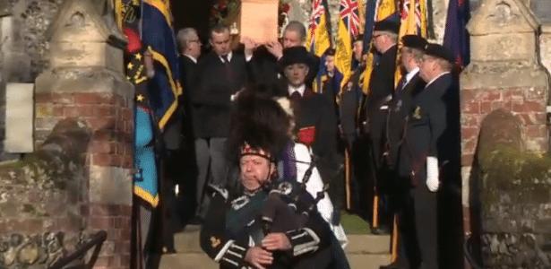 Cerimônia fúnebre de Reginald Watson em Norfolk