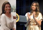 Americana faz oito cirurgias plásticas para ficar parecida com Melania Trump (Foto: Facebook/ Franklin Rose e Mike Theiler/ Reuters)