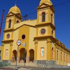 Igreja na cidade de Guapiara (SP)