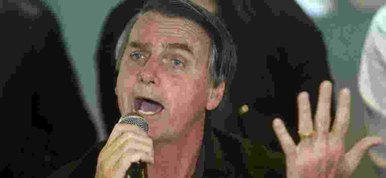 O candidato do PSL à Presidência da República, Jair Bolsonaro - WILTON JUNIOR/ESTADÃO CONTEÚDO