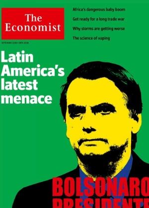 Resultado de imagem para the economist bolsonaro