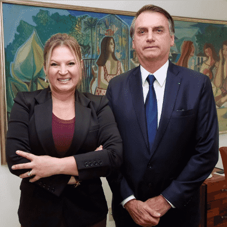 Joice Hasselmann (PSL-SP)j e o presidente Jair Bolsonaro estiveram bem próximos desde a campanha eleitoral - Reprodução/Twitters