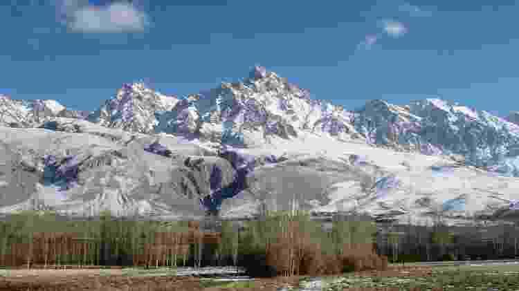 Vista das montanhas Taurus, na Turquia - Zeynel Cebec/Wikimedia