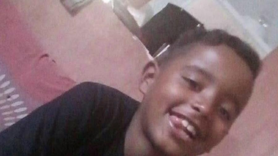 Miguel Gustavo Lucena de Souza, 12, morto por um policial militar em São José dos Campos, interior de São Paulo - Arquivo pessoal
