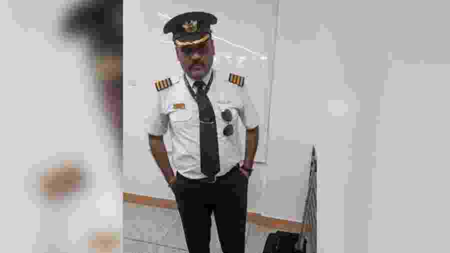 Indiano se passava por piloto de avião - Reprodução/CNN