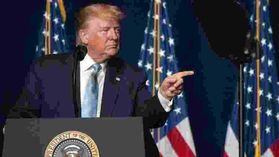 Ataque aéreo em aeroporto de Bagdá que culminou na morte de general iraniano foi ordenado pessoalmente pelo presidente americano Donald Trump - EPA-CRISTOBAL HERRERA