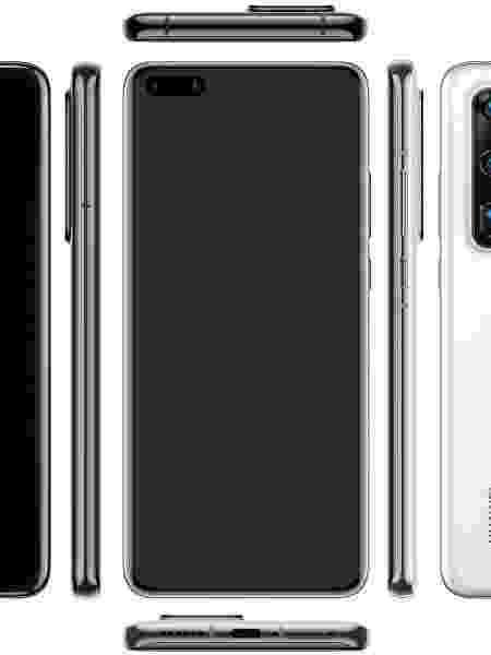 Huawei quer manter reinado entre câmera com o P40 Pro - Reprodução