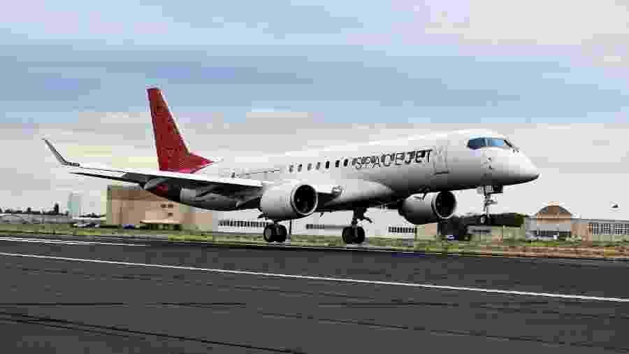 Avião Mitsubishi SpaceJet deverá ser o primeiro jato comercial de passageiros desenvolvido no Japão - Divulgação