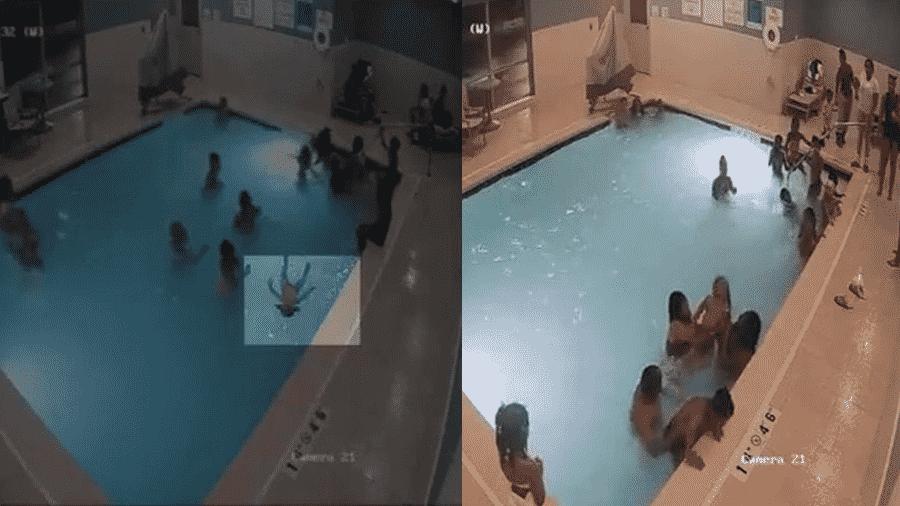 Menino de 2 anos se afoga em piscina de hotel nos EUA; ele ficou quatro minutos submerso até alguém perceber o problema - Reprodução/Facebook/The Sun
