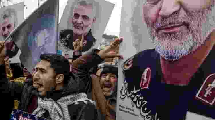 """Depois que Estados Unidos mataram o general Qasem Soleimani, Irã prometeu """"vingança severa"""" - Getty images - Getty images"""