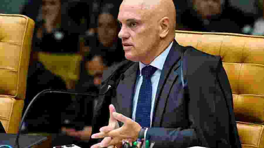 Ministro Alexandre de Moraes, do Supremo, ordenou que contas saíssem do ar também no exterior - Foto: Carlos Moura/STF