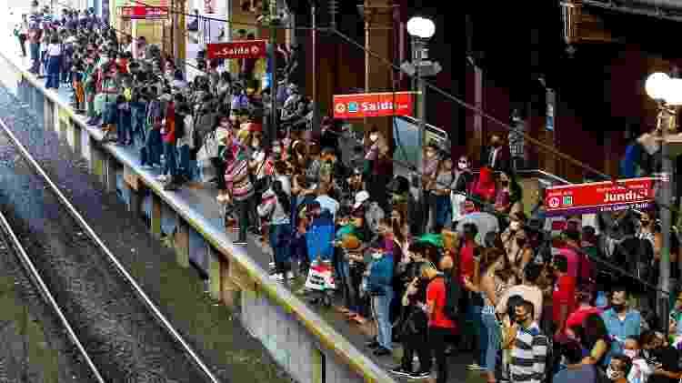 Estação da Luz - Bruno Escolastico/Photopress/Estadão Conteúdo - Bruno Escolastico/Photopress/Estadão Conteúdo