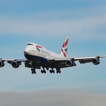 Proprietário da Iberia e da British Airways (foto) informou que registrou prejuízo em 2020 devido à crise provocada pela pandemia - Getty Images