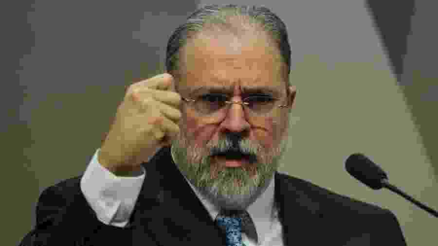 Augusto Aras, procurador-geral da República: posição sobre duas ADIs que estão no Supremo é impecável. É o triunfo da Constituição - Marcelo Camargo/Agência Brasil