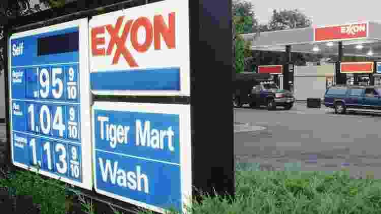 Em comunicado, a ExxonMobil afirmou que alegações sobre as pesquisas climáticas da empresa são imprecisas e deliberadamente enganosas - Getty Images - Getty Images