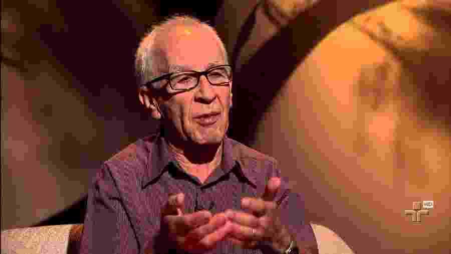 Anivaldo Padilha é o entrevistado do programa Provocações, com Antônio Abujamra, em fevereiro de 2013 - Reprodução/YouTube