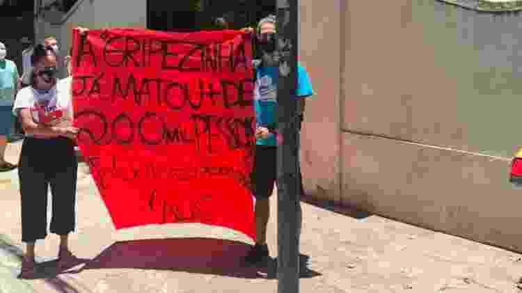 Protesto Rio - Tatiana Campbell/UOL - Tatiana Campbell/UOL