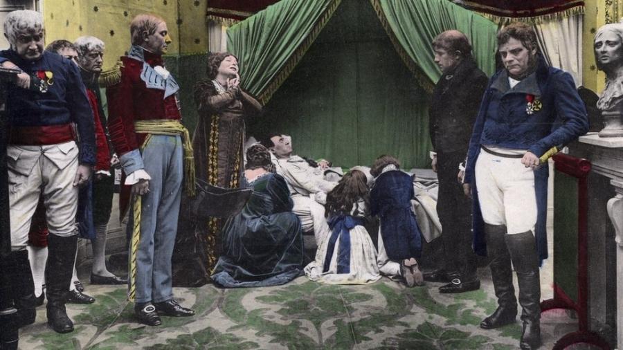 Napoleão Bonaparte morreu em 5 de maio de 1821 em Santa Helena, conta a história. Mas qual foi a causa? - Getty Images