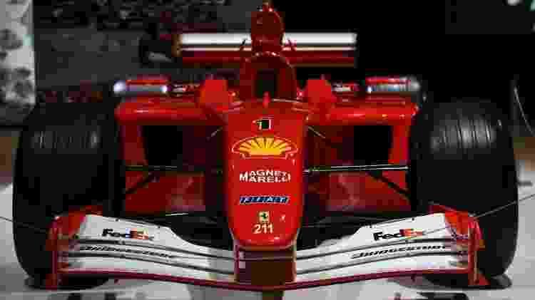 Ferrari 2001 - Reprodução/F1.com - Reprodução/F1.com