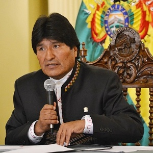O presidente boliviano Evo Morales