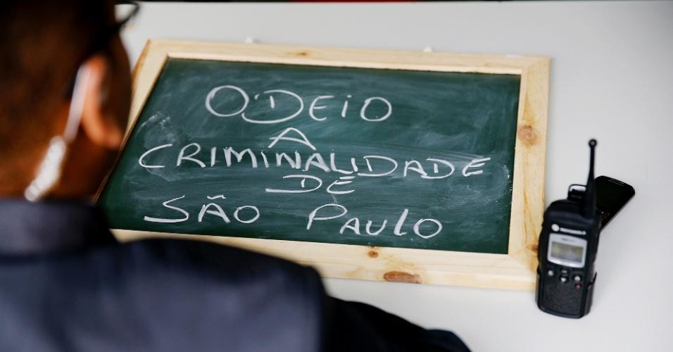 """""""A parte chata de São Paulo é a criminalidade. Hoje não estamos seguros em lugar nenhum, temos que estar atentos a tudo e todos. Está um absurdo. Mas todo o restante é tranquilo""""."""