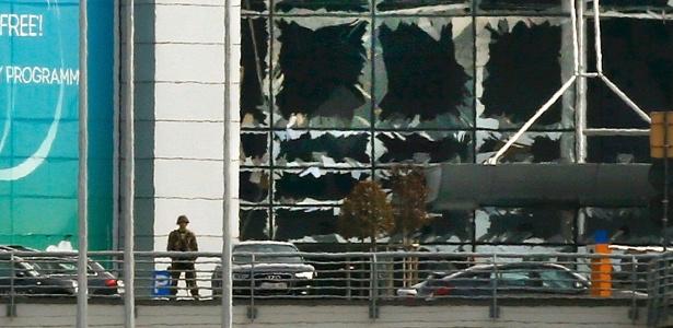 Aeroporto de Bruxelas permanecerá fechado até quinta-feira - Francois Lenoir/Reuters
