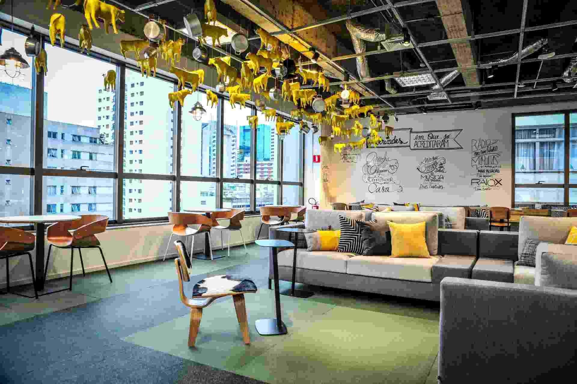 Espaço interno do Campus São Paulo, do Google - Divulgação