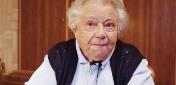 Gertrude, a aposentada de 89 anos no vídeo onde alerta para os riscos da extrema-direita