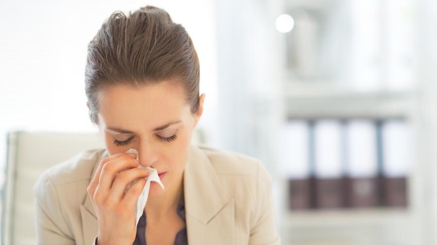 alergia, espirro, gripe, resfriado - Getty Images