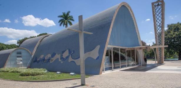 A Igrejinha da Pampulha foi pichada em MG, na madrugada desta quinta-feira