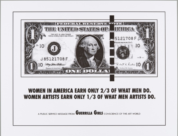 Poster de 1985 das Guerrilla Girls