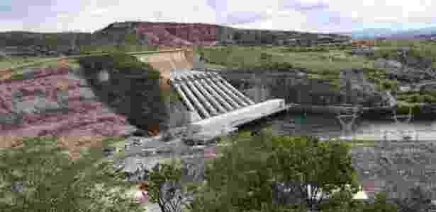 Hidrelétrica de Furnas, controlada pela Eletrobras - Téo Takar