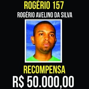 23.set.2017 - Disque-denúncia oferece recompensa por traficante Rogério 157