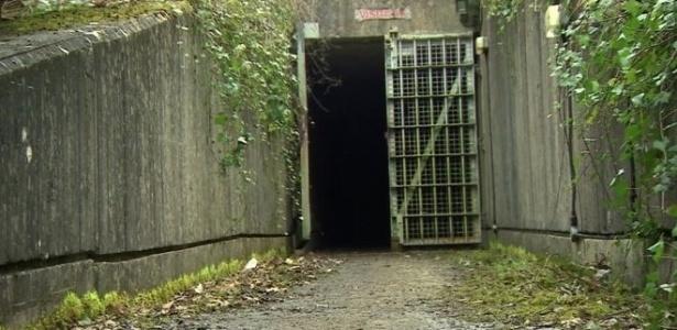 Bunker da época da Guerra Fria em Chilmark, na Inglaterra, foi convertido em local de produção de maconha
