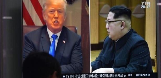 Donald Trump decidiu cancelar a reunião histórica marcada inicialmente para 12 de junho